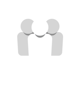 social managed white logo