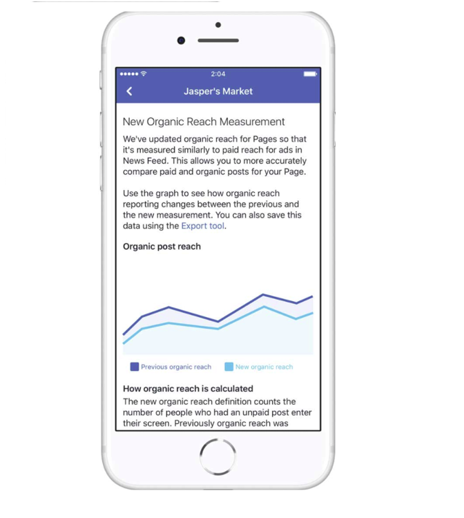 Facebook Rolls Out a New Way to Measure Organic Reach