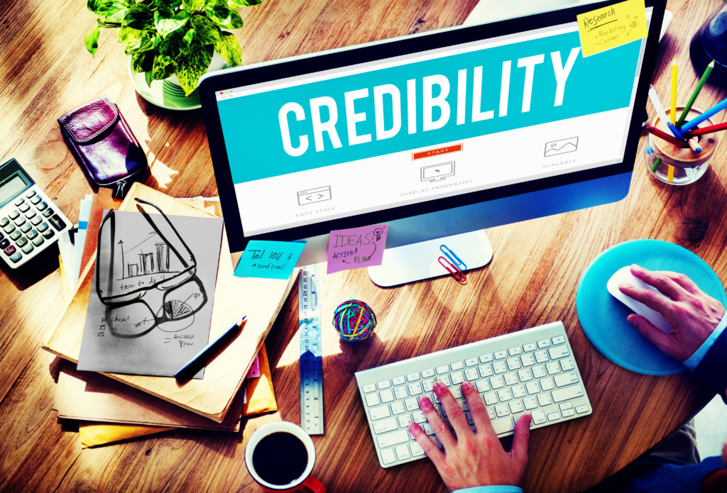 Four Easy Ways to Establish Credibility on Your Website