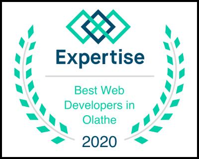 olathe web developer 2020 award
