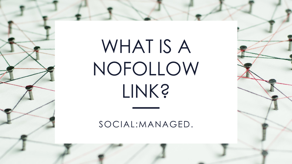 What is a NoFollow Link? Digital marketing agency in Kansas City | Digital marketing company in Kansas City | Facebook Ad management in Kansas City | Google Ad company in Kansas City